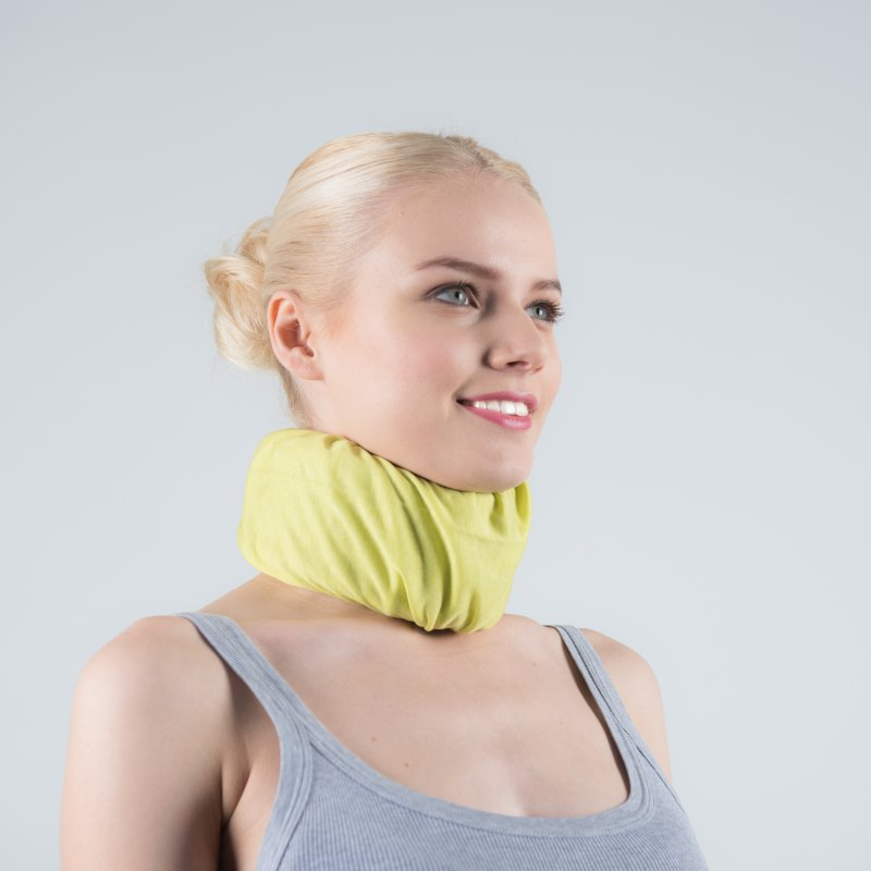 Green anise cover for neck brace